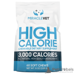 Photo №1. Miracle Vet Weight Gaining Chews (3000 calories par sac) en ville de Penza. Prix - 34€. Annonce № 7558